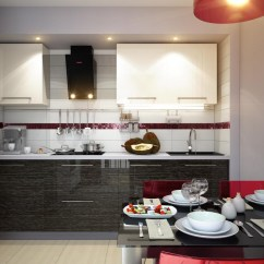 Black And White Kitchen Accessories Ninja System Pulse Blender Dining Designs Inspiration Ideas
