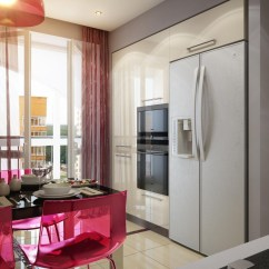 White Kitchen Decor Ikea Lighting Red Dining Interior Design Ideas
