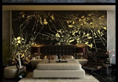 Bedroom Feature Wallpaper Bedroom Decorating Ideas