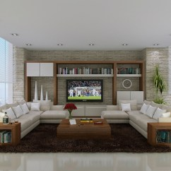 L Shaped Couch Living Room Ideas Safari Inspired Neutral Sofas Interior Design