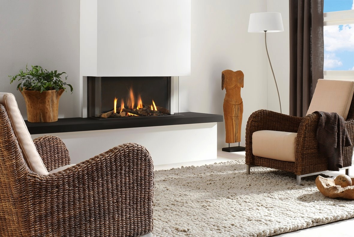 Contemporary Fireplace Interior Design Ideas