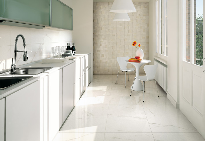ceramic tiles for kitchen rv faucets white tile textured wall interior design ideas like architecture follow us