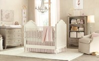 Gray pink baby girls room | Interior Design Ideas.
