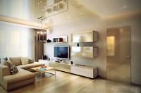 Neutral living room L shaped sofa   Interior Design Ideas.