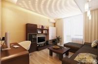 Neutral living room home office | Interior Design Ideas.
