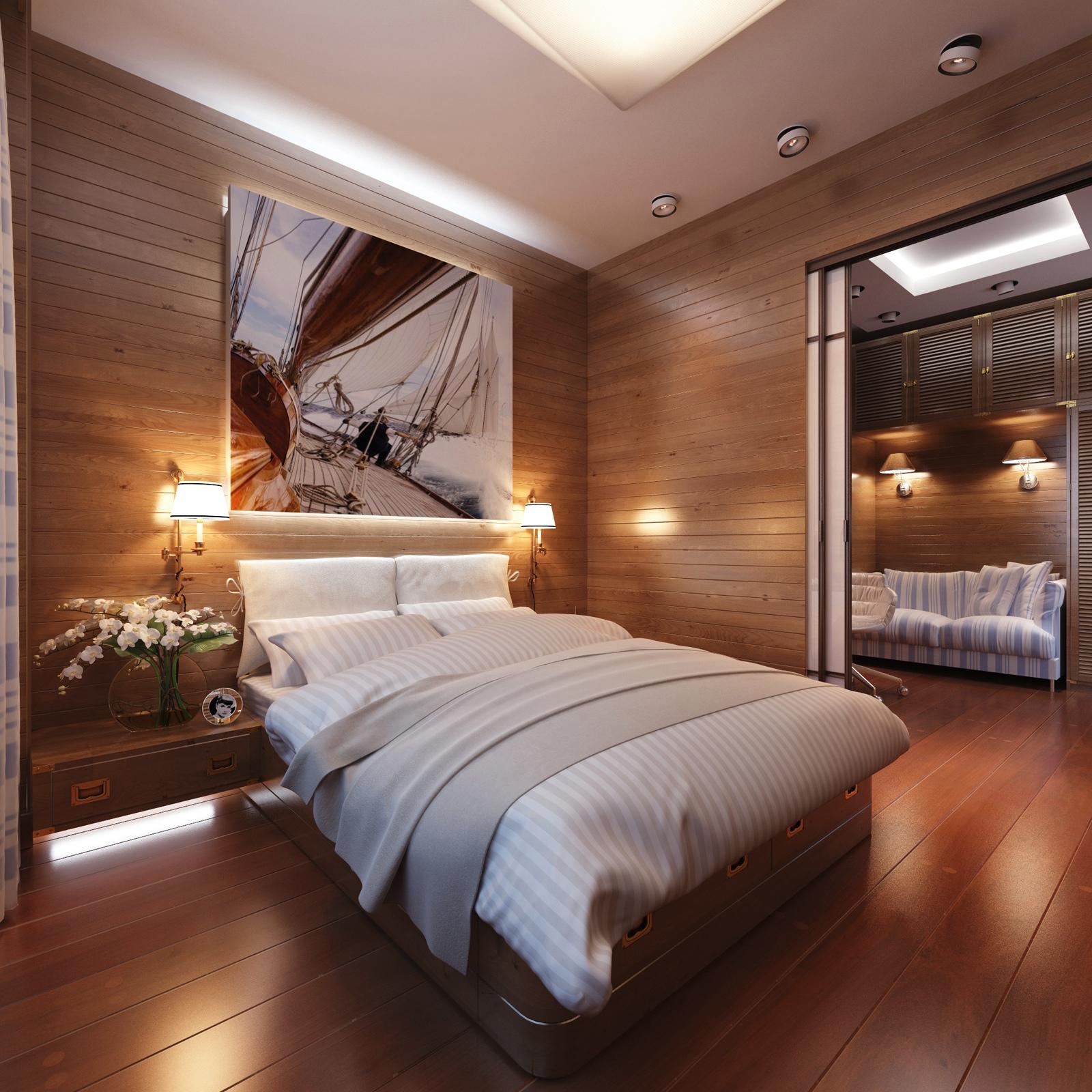 Cabin Style Bedroom Decor