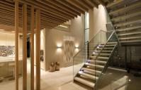 Modern open staircase   Interior Design Ideas.