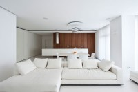 White living room diner   Interior Design Ideas.
