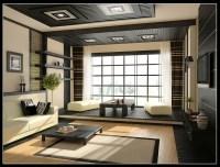 Cream black living room decor | Interior Design Ideas.