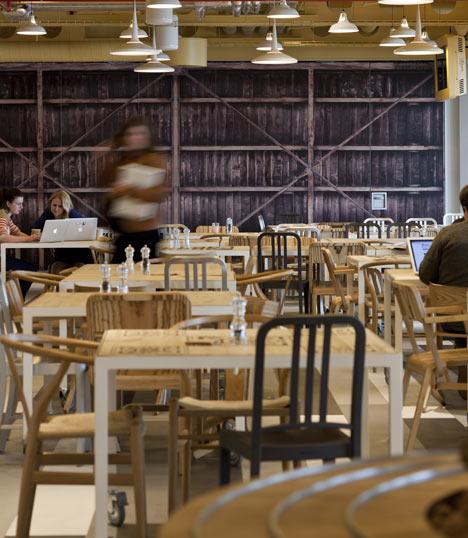 Google office cafe  Interior Design Ideas
