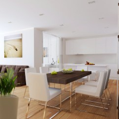 Open Plan Kitchen Living Room Design Ideas Restoration Hardware Rooms Diner Interior