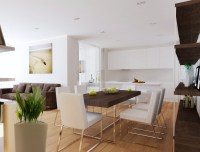 Open plan living room diner kitchen   Interior Design Ideas.