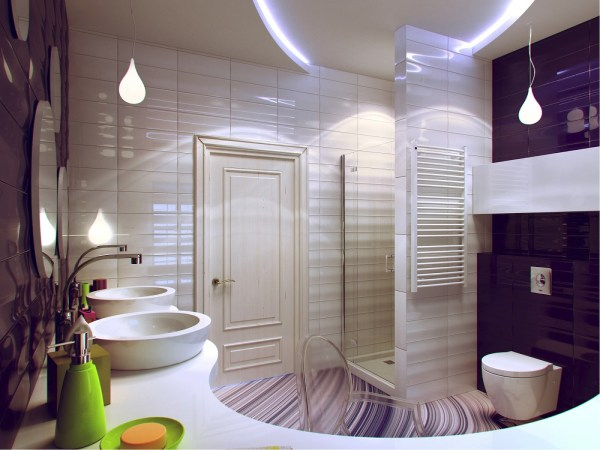 Small Bathroom Decorating Ideas Purple