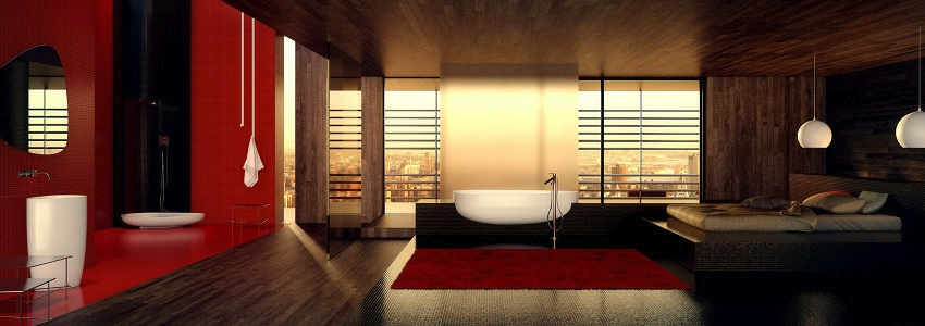 Sleek Bathrooms by Danelon Meroni
