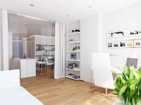 White home office space | Interior Design Ideas.