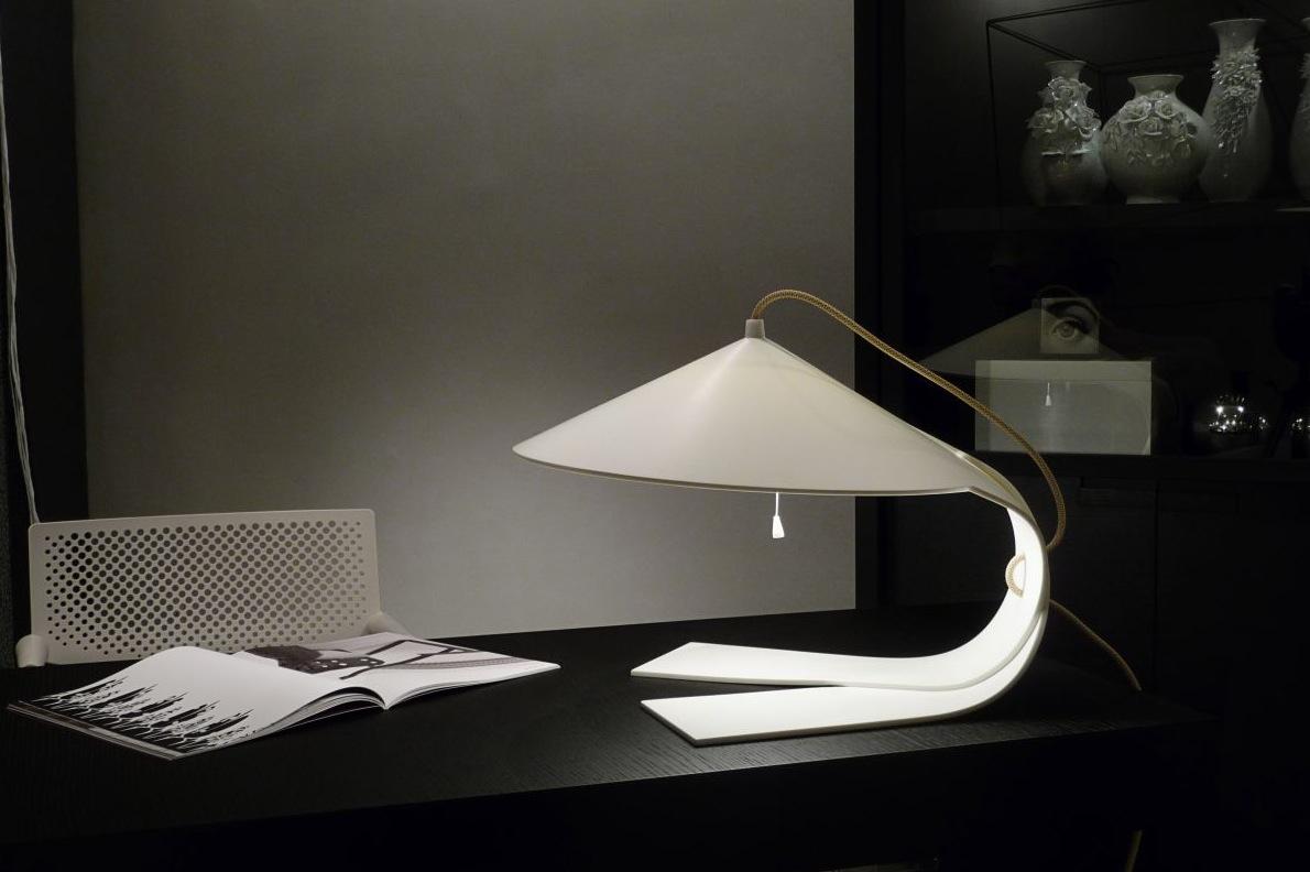 Unusual desk lamp  Interior Design Ideas