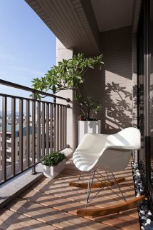 Balcony Furniture Interior Design Ideas