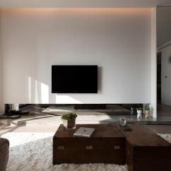 Contemporary Design Ideas Living Room With Brown Leather Couch Comfortable Decor