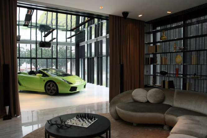 Car themed living room