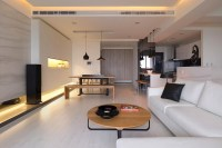 Monochrome living room design | Interior Design Ideas.