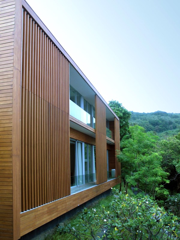 Wood Facade Architecture