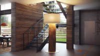 Metal staircase | Interior Design Ideas.