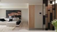 Contemporry room divider | Interior Design Ideas.