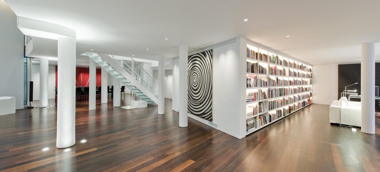 Contemporary Penthouse Apartment Decor Interior Design