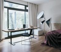 Bedroom office area | Interior Design Ideas.