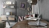 Driftwood shelf | Interior Design Ideas.