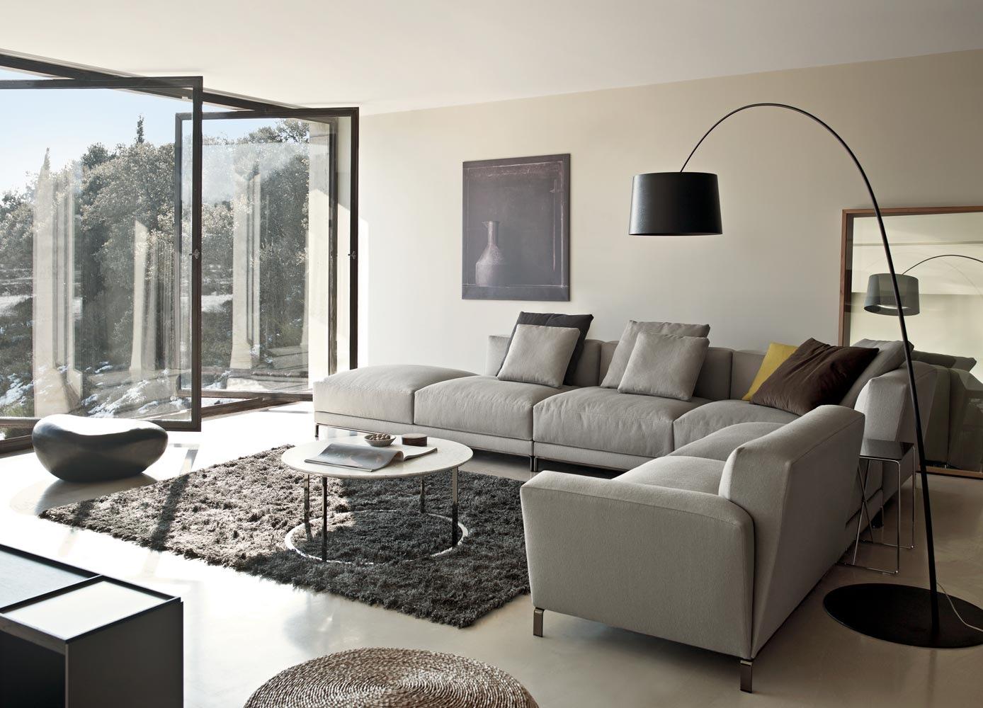 grey sectional sofa ideas robin day habitat bed gray interior design