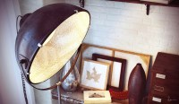 Industrial standing lamp | Interior Design Ideas.