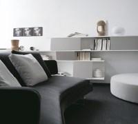 Monochrome lounge decor | Interior Design Ideas.