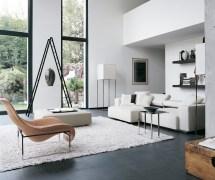 White Contemporary Living Room Decor