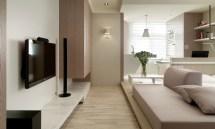 Small Living Super Streamlined Studio Apartment