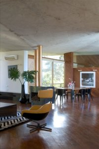 Concrete ceiling | Interior Design Ideas.