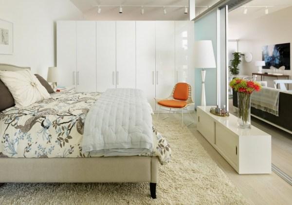 apartment bedroom design ideas Hip, Young Personal Profiles Inspire L.A. Loft Decor