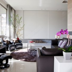 Living Room Contemporary Interiors Rooms With Fireplaces Images Light Filled