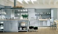 light blue country kitchen   Interior Design Ideas.