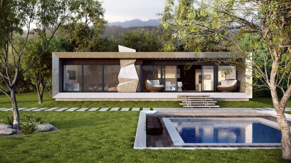 Country Modern House Design