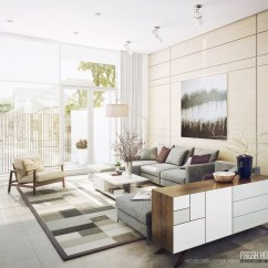 Modern Living Room Decor Pics Townhouse Design Light Filled Contemporary Rooms