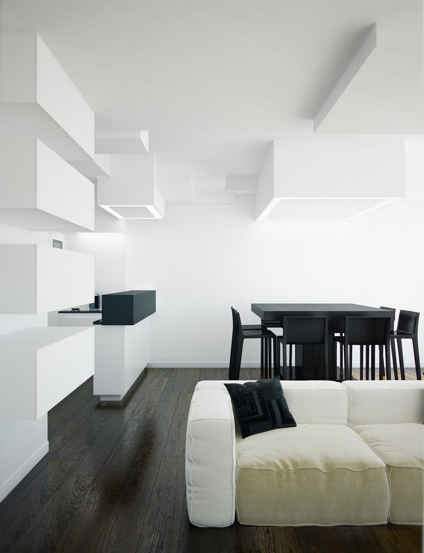 modern open plan living space  Interior Design Ideas