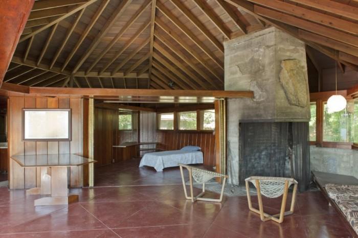 Falling Water Wallpaper Free Download Frank Lloyd Wright S Heart Island House