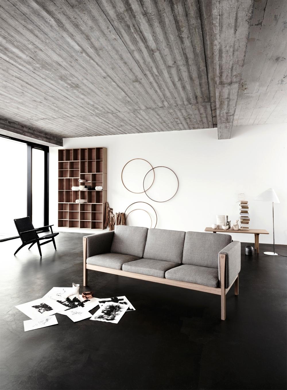 living space basement remodel 4  Interior Design Ideas
