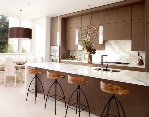 30 Amazing Design Ideas For A Kitchen Backsplash: Modern Kitchen Decor