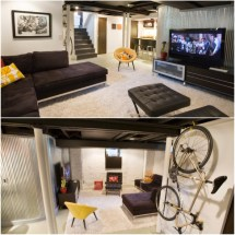Media Room Basement Remodel 0 Interior Design Ideas