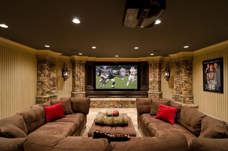 basement living rooms orange room 30 remodeling ideas inspiration