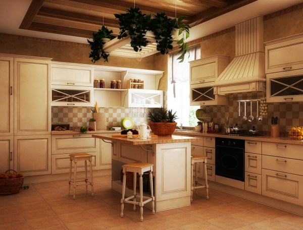 traditional country kitchen design 11 Luxurious Traditional Kitchens