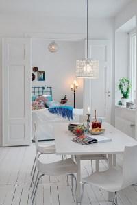 romantic white apartment decor | Interior Design Ideas.