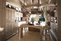 Rustic Traditional Kitchen Design